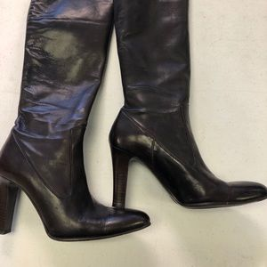 Leather boots by ColeHaan